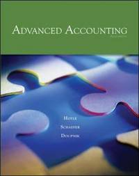 Advanced Accounting by Joe Ben Hoyle image