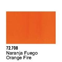 Vallejo Game Air Orange Fire Acrylic Paint (17ml)