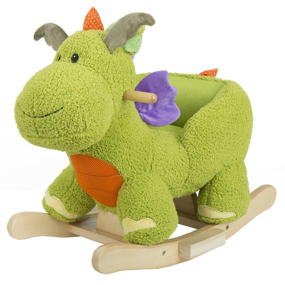 Green Rocking Dinosaur image
