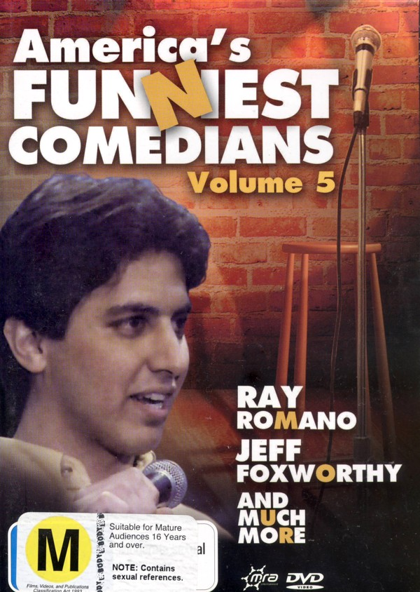 America's Funniest Comedians - Vol. 5 on DVD image