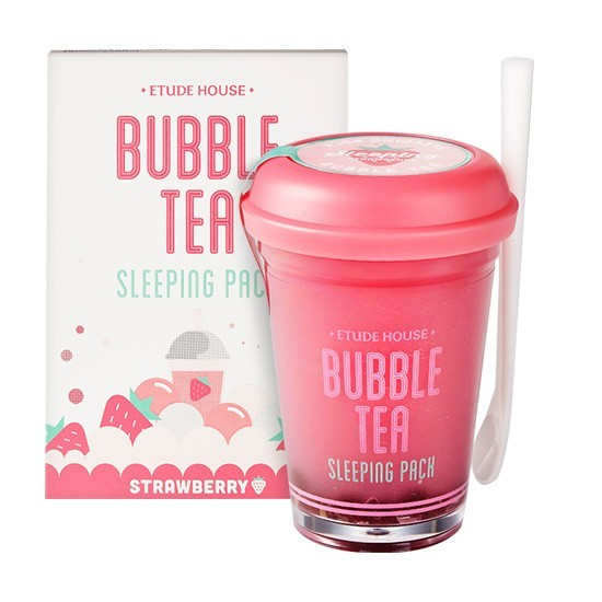 Etude House - Bubble Tea Sleeping Pack Strawberry (100G) image