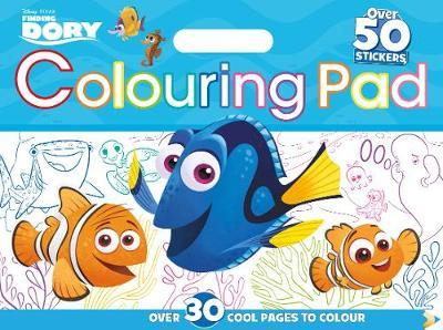 Disney Pixar Finding Dory Colouring Floor Pad by Parragon Books Ltd