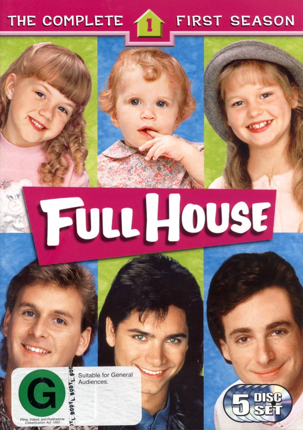 Full House - Complete Season 1 (5 Disc) on DVD image