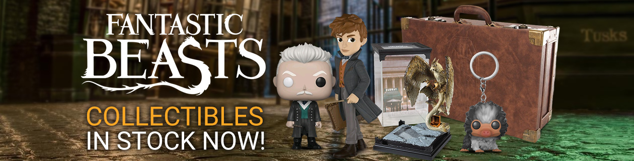 Awesome Fantastic Beasts Collectibles!