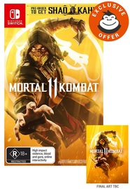 Mortal Kombat 11 for Switch