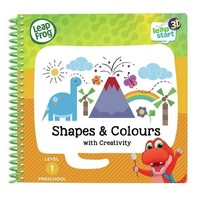 Leapfrog: Leapstart 3D Book - Shapes & Colours with Activity