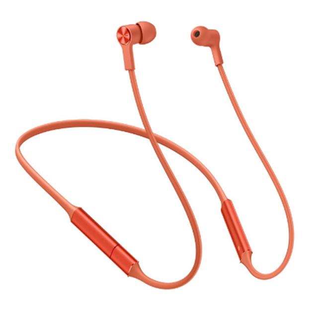 Huawei: Freelace Long Battery Life Wireless Earphones - Amber Sunrise