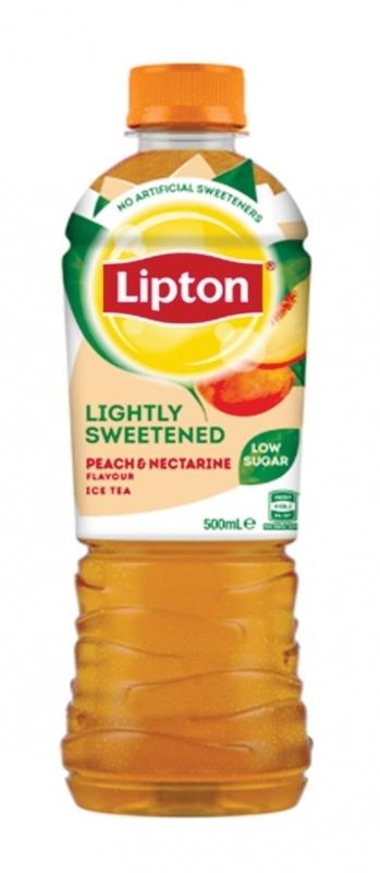 Lipton Ice Tea Lightly Sweetened Peach & Nectarine 500ml