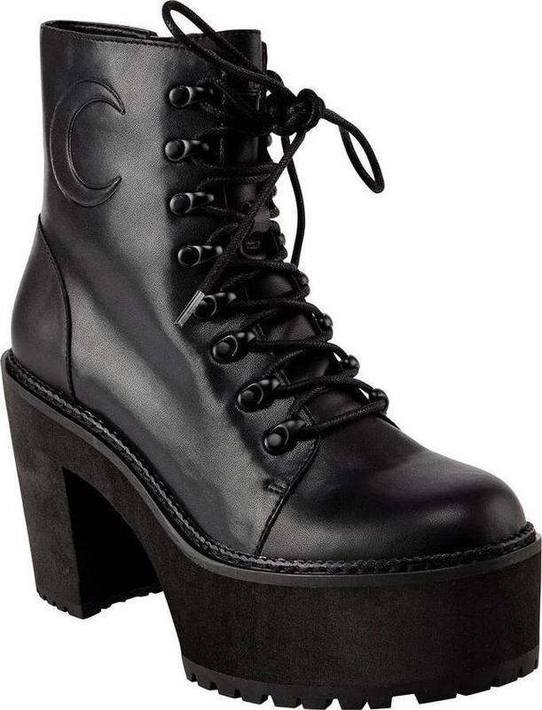 Killstar: Krystal Boots (Black) - US W8