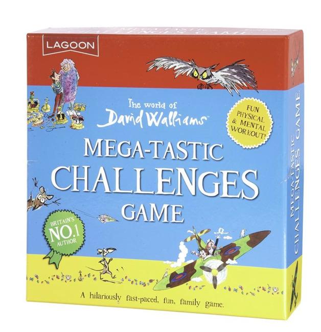 Lagoon: David Walliams - Mega-Tastic Challenges Game