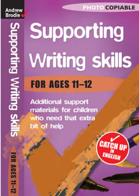 Writing Skills 11-12 by Andrew Brodie image