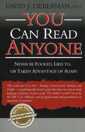 You Can Read Anyone by David Lieberman