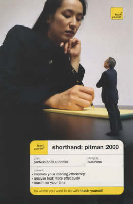 Shorthand Pitman 2000 by Pitman's College image