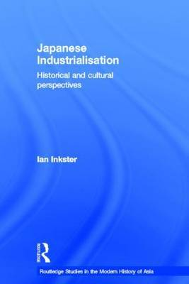 Japanese Industrialisation by Ian Inkster image