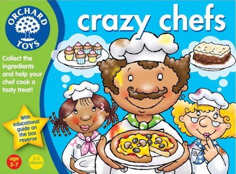 orchard toys crazy chefs instructions