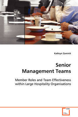 Senior Management Teams by Kathryn Zammit