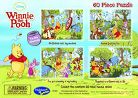 Winnie the Pooh 60 Piece Jigsaw Puzzle Puzzle - Picked Just For You image