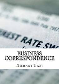 Business Correspondence by MR Nishant K Baxi image