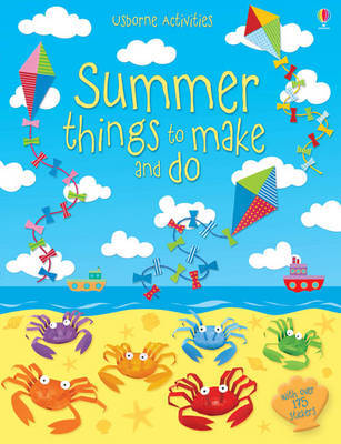 Summer Things to Make and Do by Leonie Pratt image