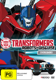 Transformers: Robots In Disguise: Overloaded on DVD
