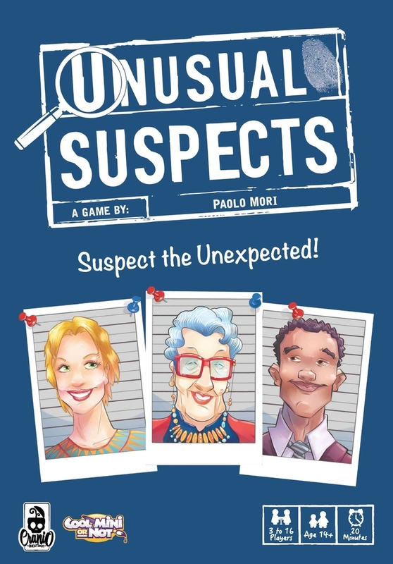 Unusual Suspects - Card Game