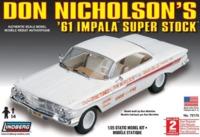 Lindberg: 1/25 1961 Chevy Impala SS (Don Nicholson) - Model Kit image