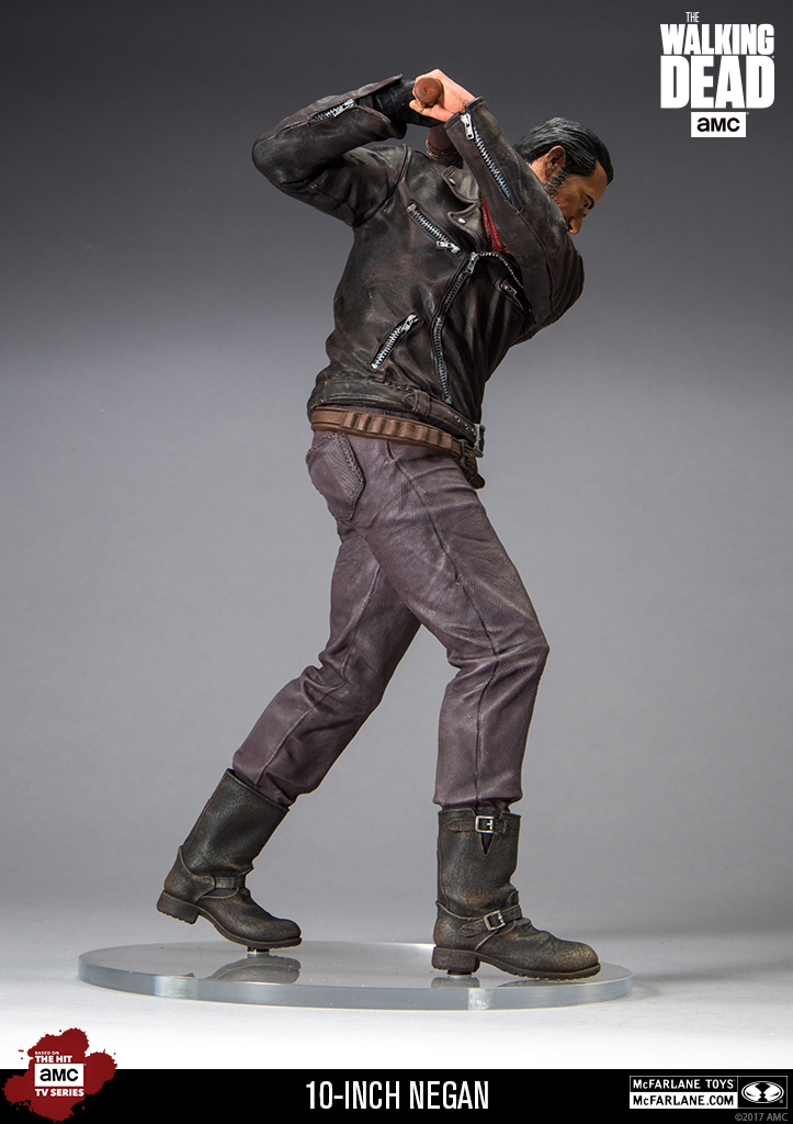 "The Walking Dead: 10"" Negan Deluxe Figure image"