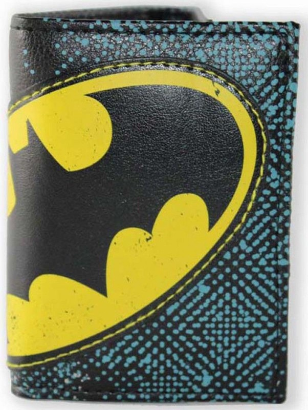 DC Comics: Batman Halftone Applique - Tri-fold Wallet