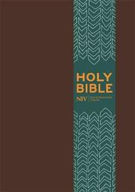 NIV Pocket Brown Imitation Leather Bible by New International Version