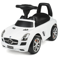 Toyrific: Foot to Floor Ride On - SLS Mecedes White