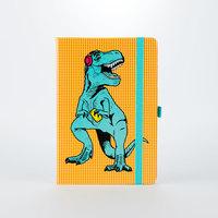 Mustard: T-Rex A5 Notebook - Blue