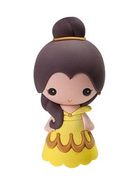 Beauty and the Beast Belle 3D Foam Magnet