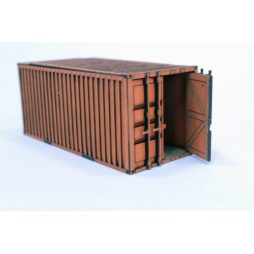 Shipping Container (White)
