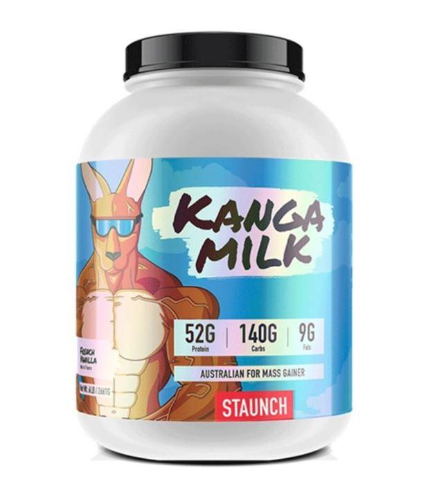 Staunch Nutrition: Kanga Milk Mass Gainer - French Vanilla (2.72kg)