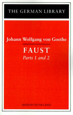Faust by Johann Wolfgang von Goethe image