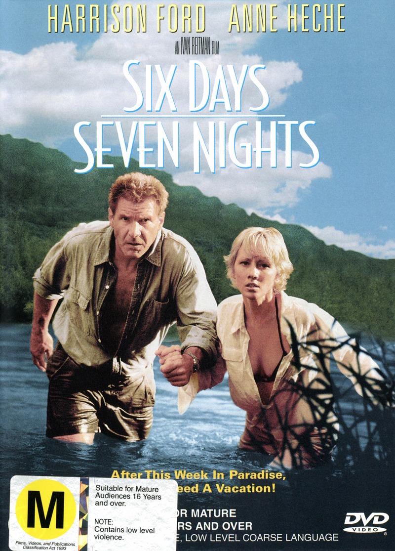Six Days, Seven Nights on DVD image