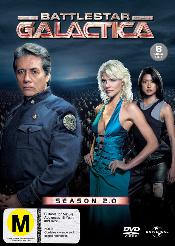 Battlestar Galactica - Season 2 on DVD