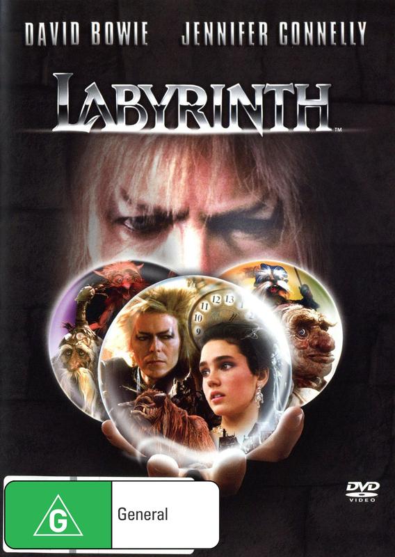 Labyrinth -  Standard Edition on DVD
