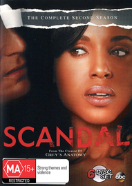 Scandal - The Complete Second Season on DVD