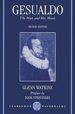 Gesualdo by Glenn Watkins