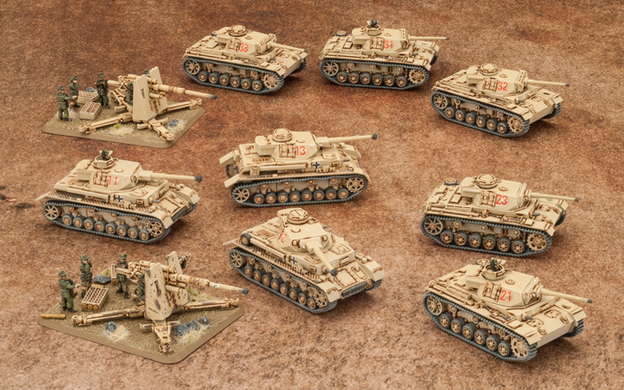Flames of War: Rommel's Afrika Korps Starter Army Box image