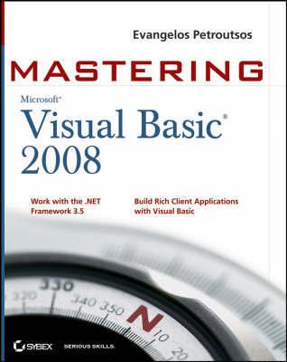Mastering Microsoft Visual Basic 2008 by Evangelos Petroutsos image