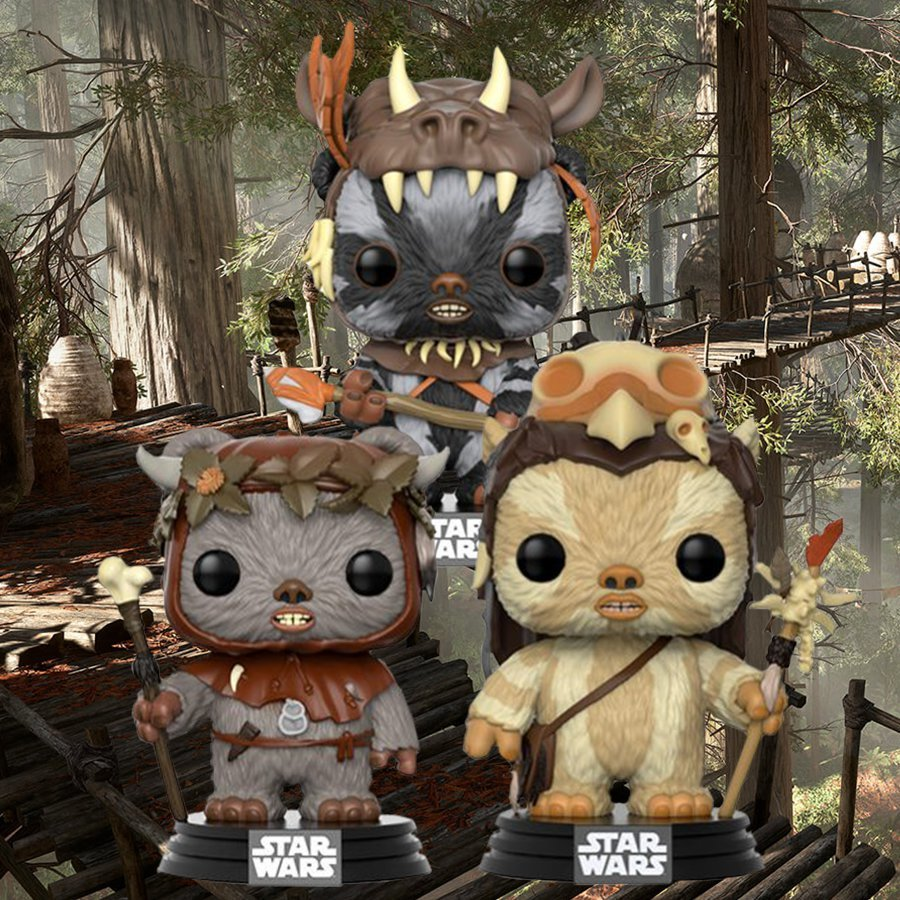 Star Wars: Ewok Collection - Pop! Vinyl 3-Pack image