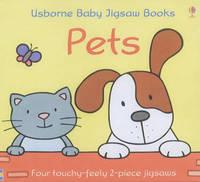 Usborne First Jigsaw Books Pets by Fiona Watt image