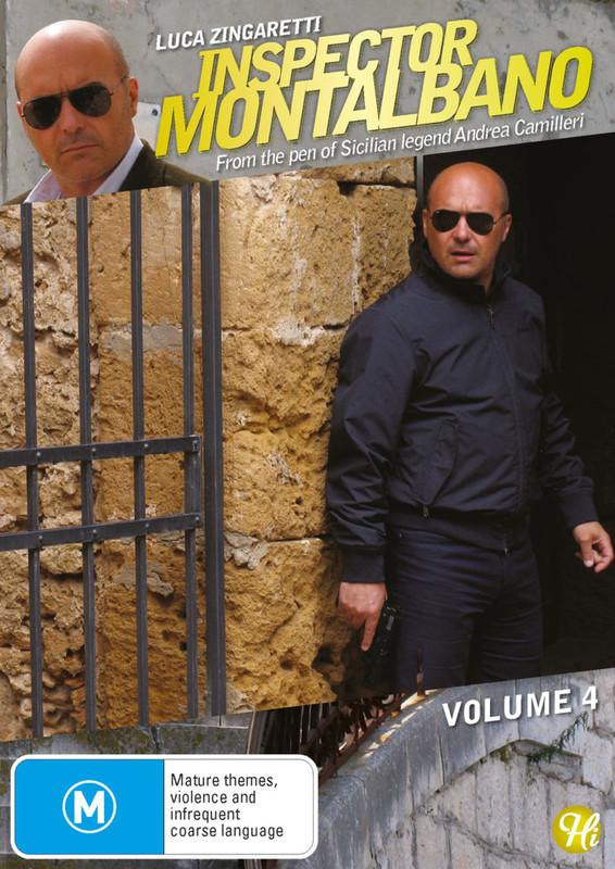 Inspector Montalbano - Vol 4 on DVD