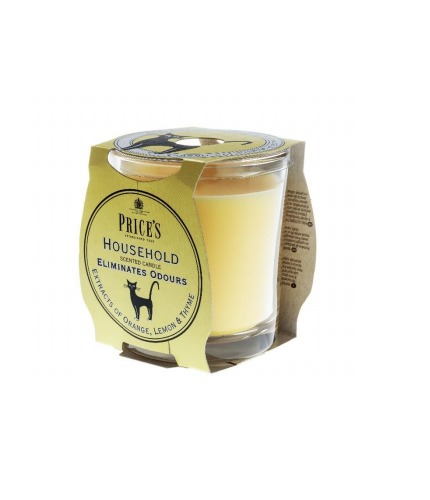 Price's Odour Eliminator Candle - Household image