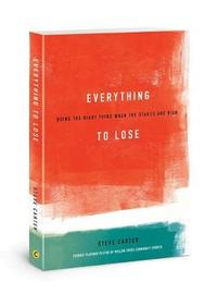 Everything to Lose by Steve Carter image
