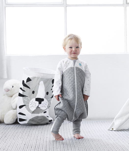 Love to Dream Sleep Suit TOG 2.5 - White - (Size 2)