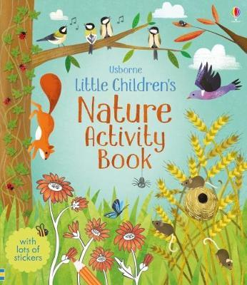 Little Children's Nature Activity Book by Rebecca Gilpin image