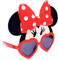 Sunstaches: Costume Sunglasses - Minnie Mouse (Eyes)